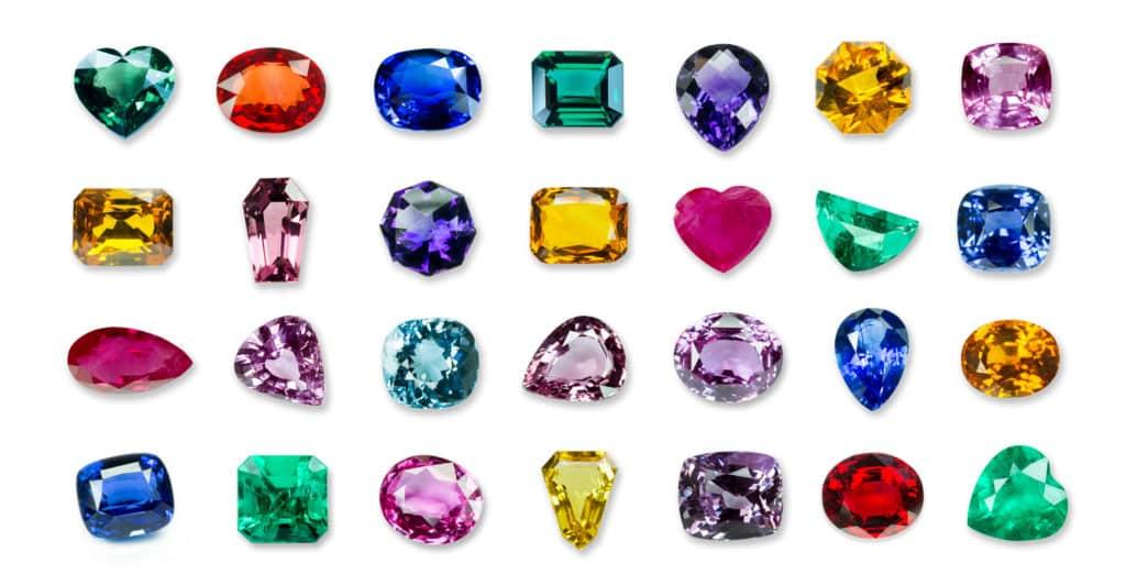Cleaning gemstones