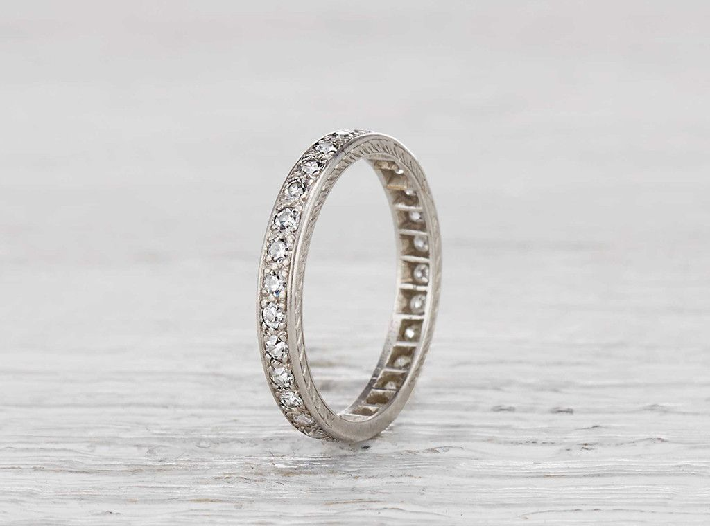 eternity ring repair and resized