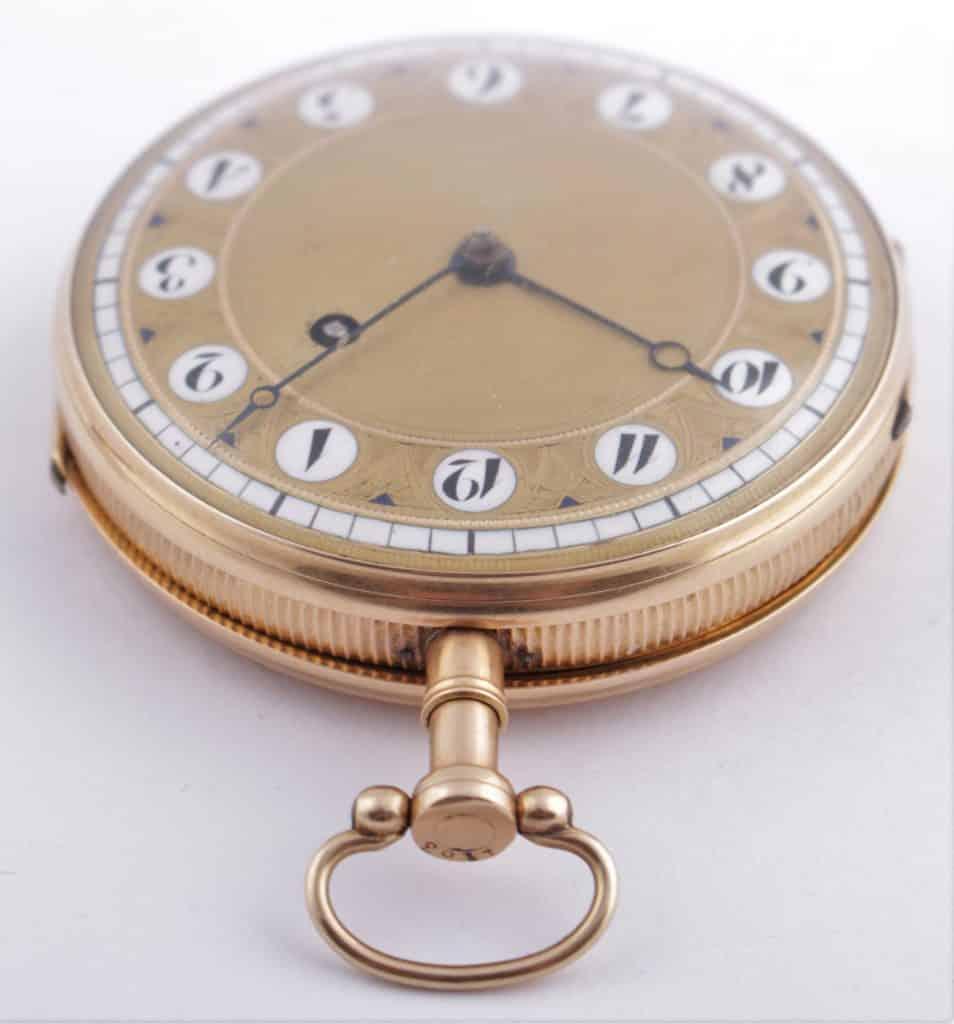 Gold pocket watch repair