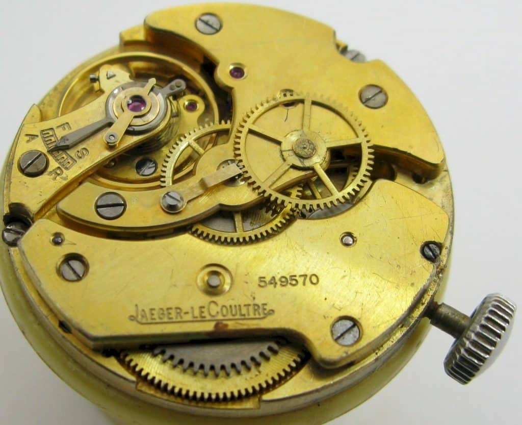 jaeger LeCoultre Watch Repair